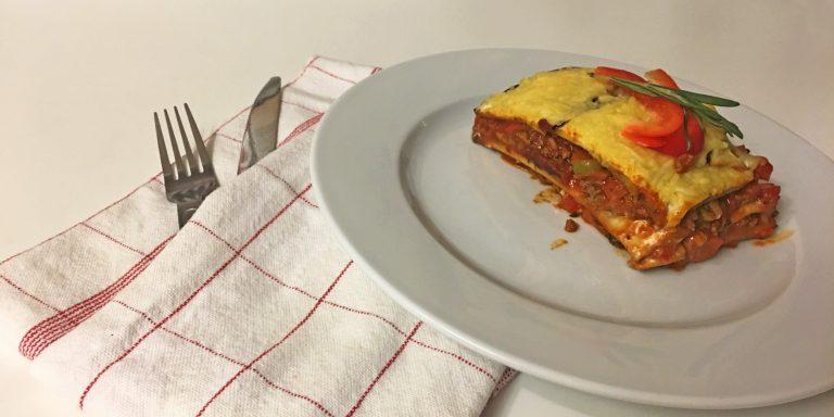 Recept: Lasagne, fodmap-vrij en koolhydraat verlaagd