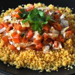 Vegan en fodmapvrije couscous